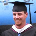 trey Shelton, Outdoor Recreation Leadership faculty at graduation