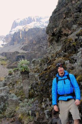 Photo: Trey Shelton on Mt. Kilimanjaro