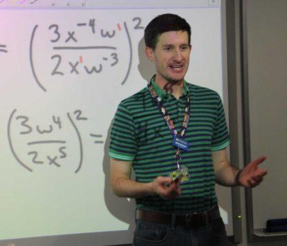 Darren Brungardt is a math professor at Colorado Mountain College Leadville