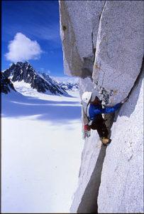 photo - Jon Bernhard alpine climbing