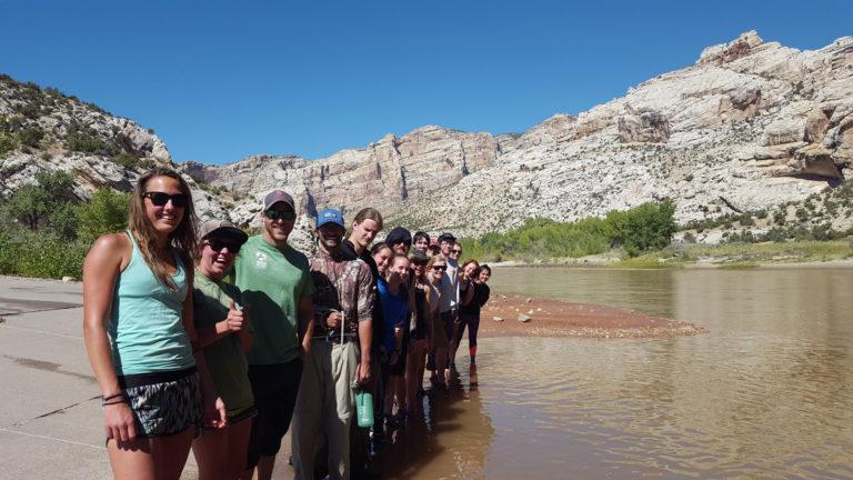 photo - students at Green River