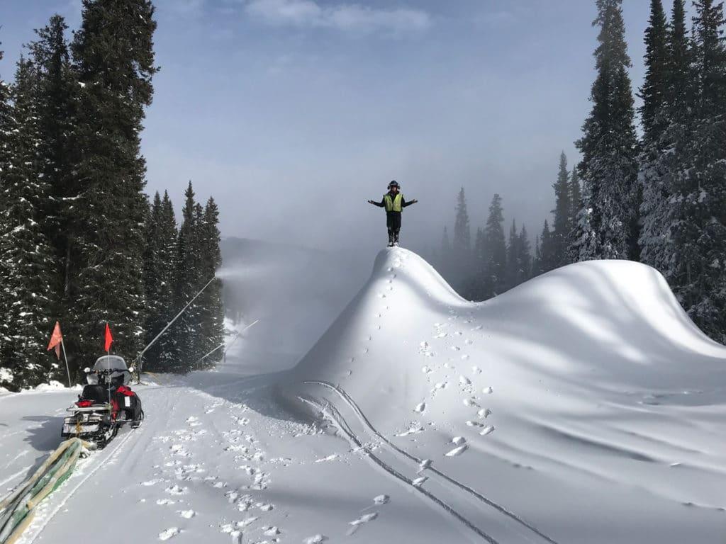 Colin Whitaker Ski Area Ops graduate launches career at Killington Resort